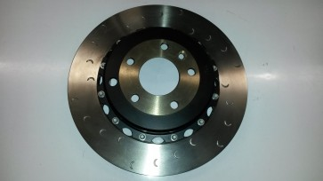V6 2 Piece rear brake disc and bell