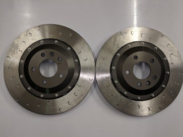 Evora 400, 410 and 430 Alloy Belled 370 mm Alcon Brake Discs (Front)