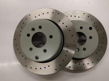 Exige V6 and Evora Rear Brake Discs (curved vane one piece)