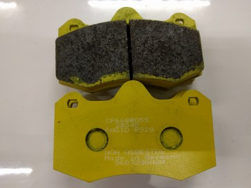 Exige V6 and Evora Front Brake Pads Pagid RS29 (Yellow)