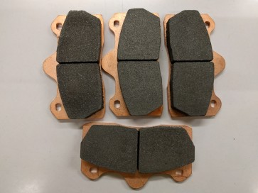 Rear pads