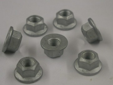 Flanged Cleave Nut M10 x 1.25 (Suspension)