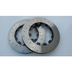 V6 Exige 343mm Alcon front disc rota's