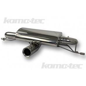 Exige / Evora V6 Komo-Tec Quiet Exhaust