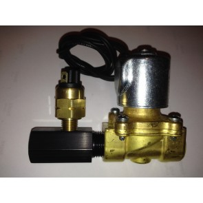 Accusump Solenoid Valve and Pressure Switch