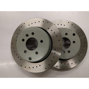 Exige V6 and Evora Rear Brake Discs (curved vane one piece)
