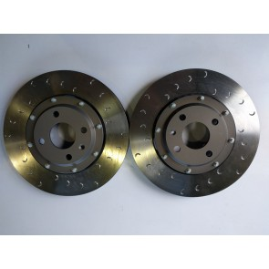 295mm Alcon Brake Discs and Fixed Alloy Bells