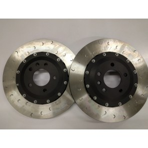 Exige V6 Alloy Belled 332 mm Alcon Brake Discs (Front)