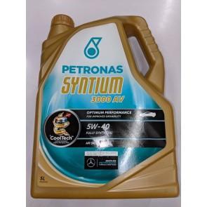 Petronas Syntium 3000 AV 5W-40 Engine oil 5Ltrs