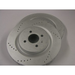 308mm S2, VX220 & Europa Brake Discs (one piece)curved vane