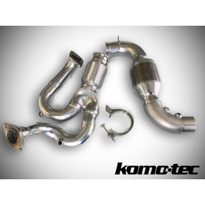 Exige V6 Komo-Tec Large Bore Catalyst and Y Pipe