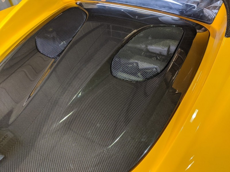 Elise 260 project carbon engine cover