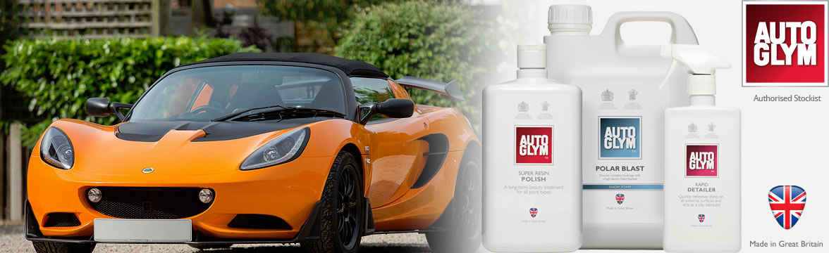 Seriously Lotus is an authorised Autoglym stockist