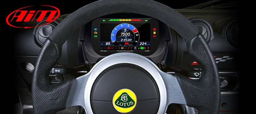 AIM MX2E Dashboard for Lotus Elise and Exige
